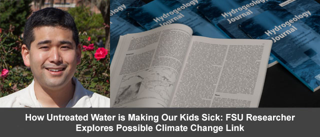 How Untreated water is Making Our Kids Sick: FSU Researcher Explores Possible Climate Change Link