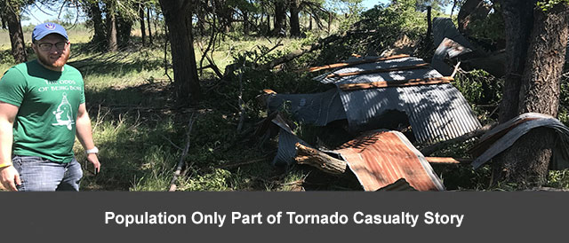 Population Only Part of Tornado Casualty Story